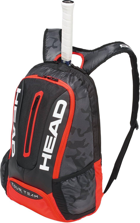 Head Tour Team - Mochila para Raqueta de Tenis, Color Negro/Rojo, tamaño