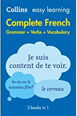 Easy Learning French Complete Grammar, Verbs and Vocabulary (3 books in 1): Trusted support for learning (Collins Easy Learning) Kindle Edition