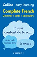 Easy Learning French Complete Grammar Verbs And