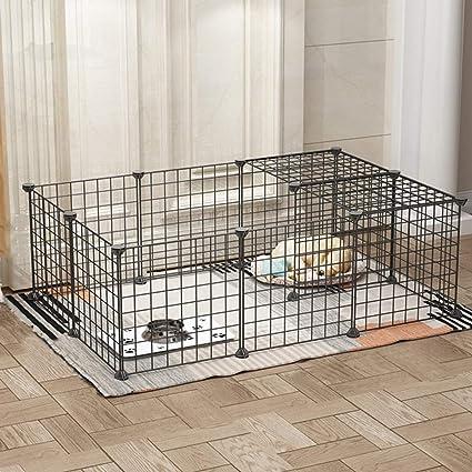 Amazon.com: Shan-s - Jaula de metal para mascotas, 16 ...