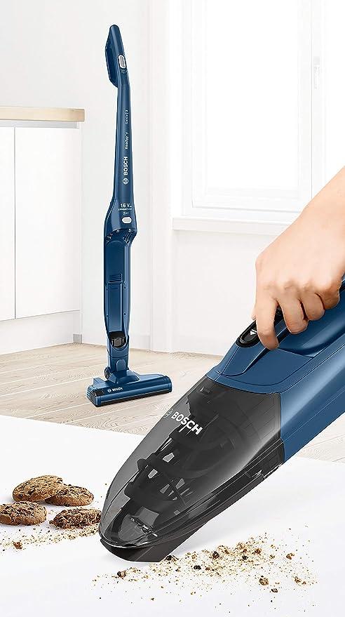 Bosch - Serie | 2, Readyyy BCHF216S Aspiradora 2 en 1 Recargable, 16 V máx, Color Azul: Amazon.es: Hogar