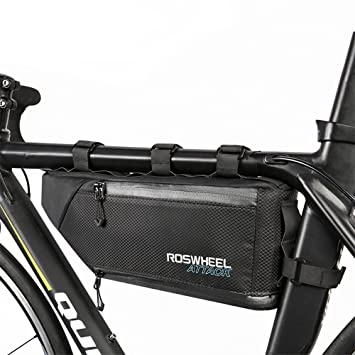 allnice bicycle frame bag waterproof bike cycling front triangle bag mountain road mtb bicycle front top - Mountain Bike Frame Bag