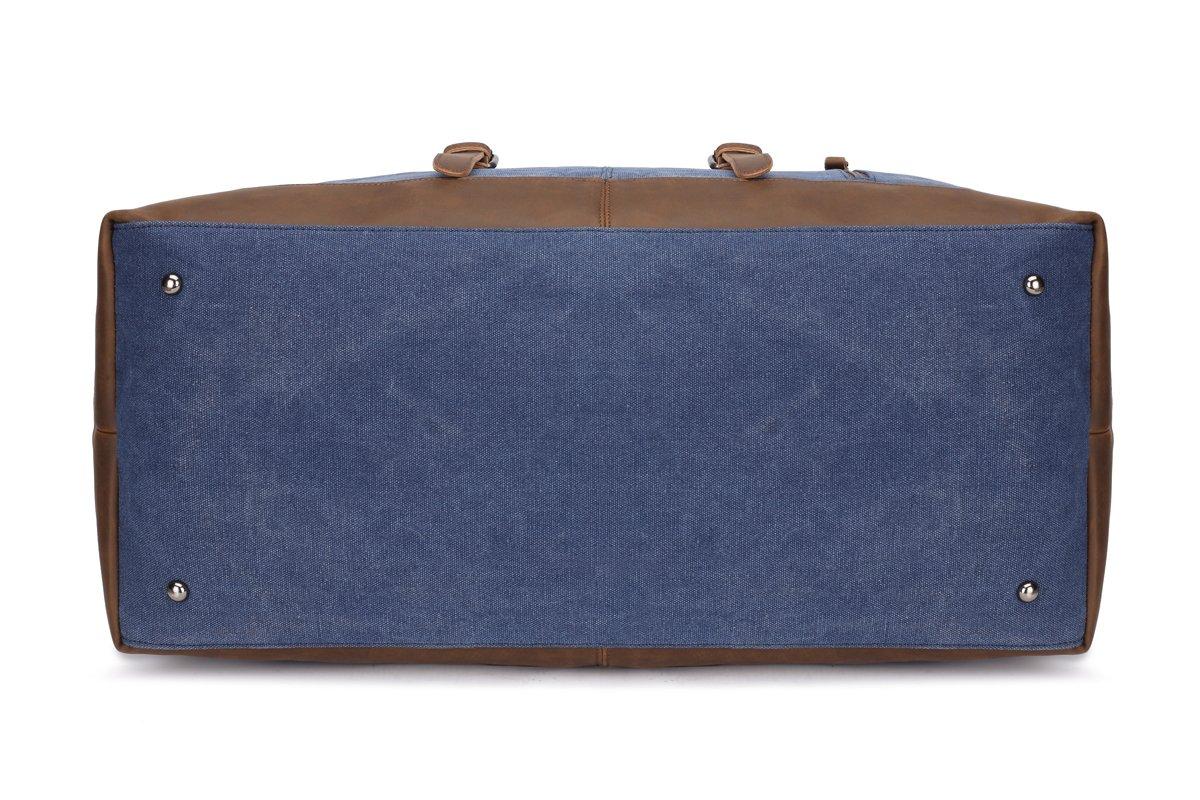 Weekend Bag Weekender Overnight Bag Canvas Vintage Travel Duffle for Men Women by UPANDFAST (Image #5)