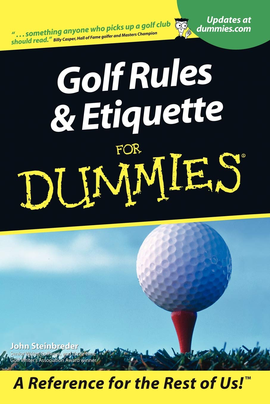 Golf Rules and Etiquette For Dummies: John Steinbreder