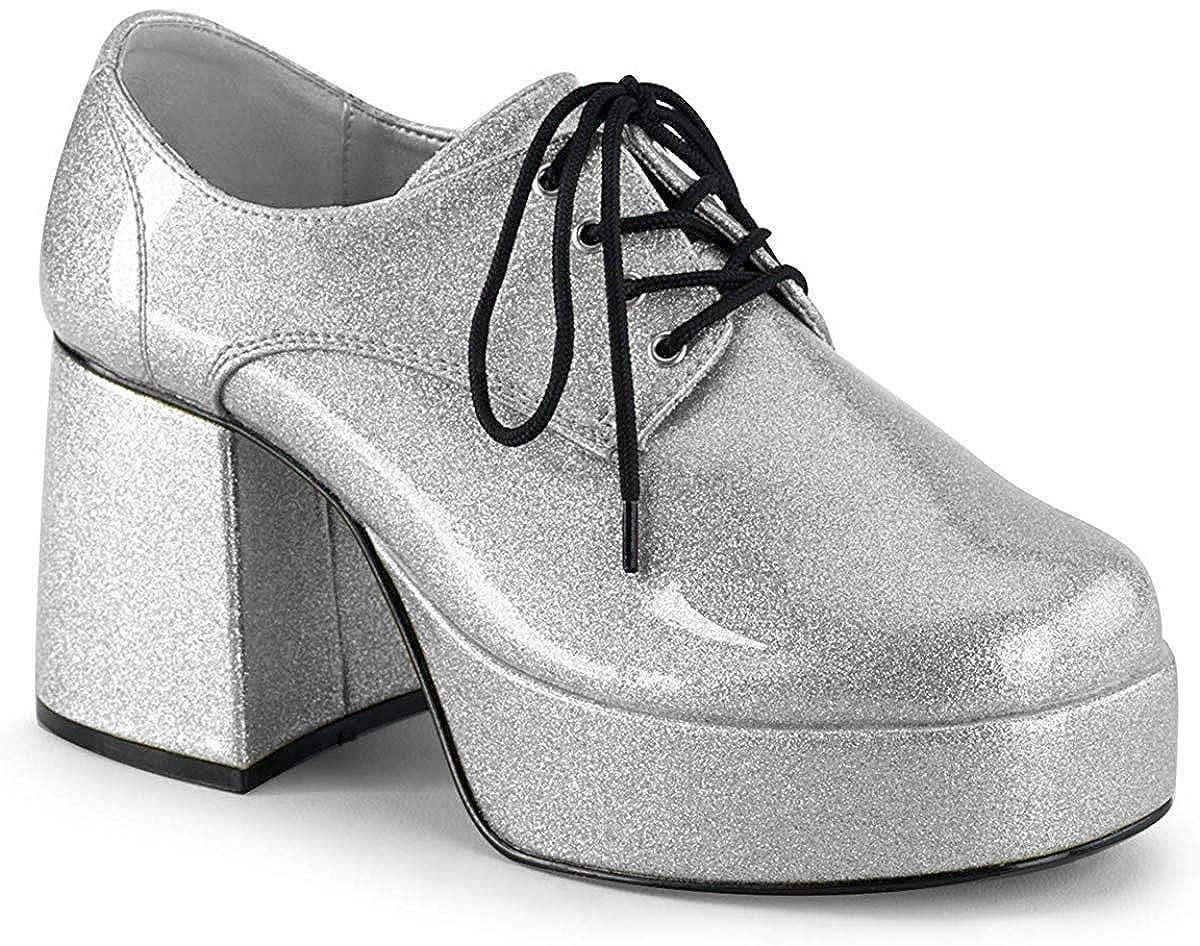 TALLA 43/44 EU. PleaserJazz-02 - Zapatos de Cordones Hombre