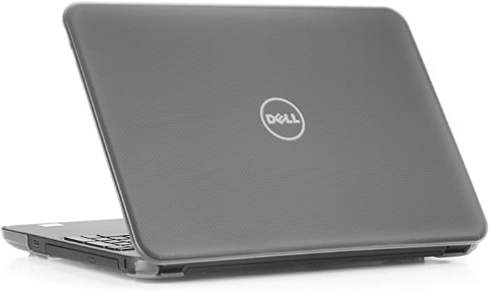 """mCover Hard Shell Case for 15.6"""" Dell Inspiron 15 5565/5567 Laptop (NOT Compatible with Other Dell Inspiron 5000 Series Models) (Clear)"""