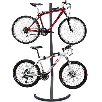 2 bicicleta alta calidad seguro soporte Display Rack con ...