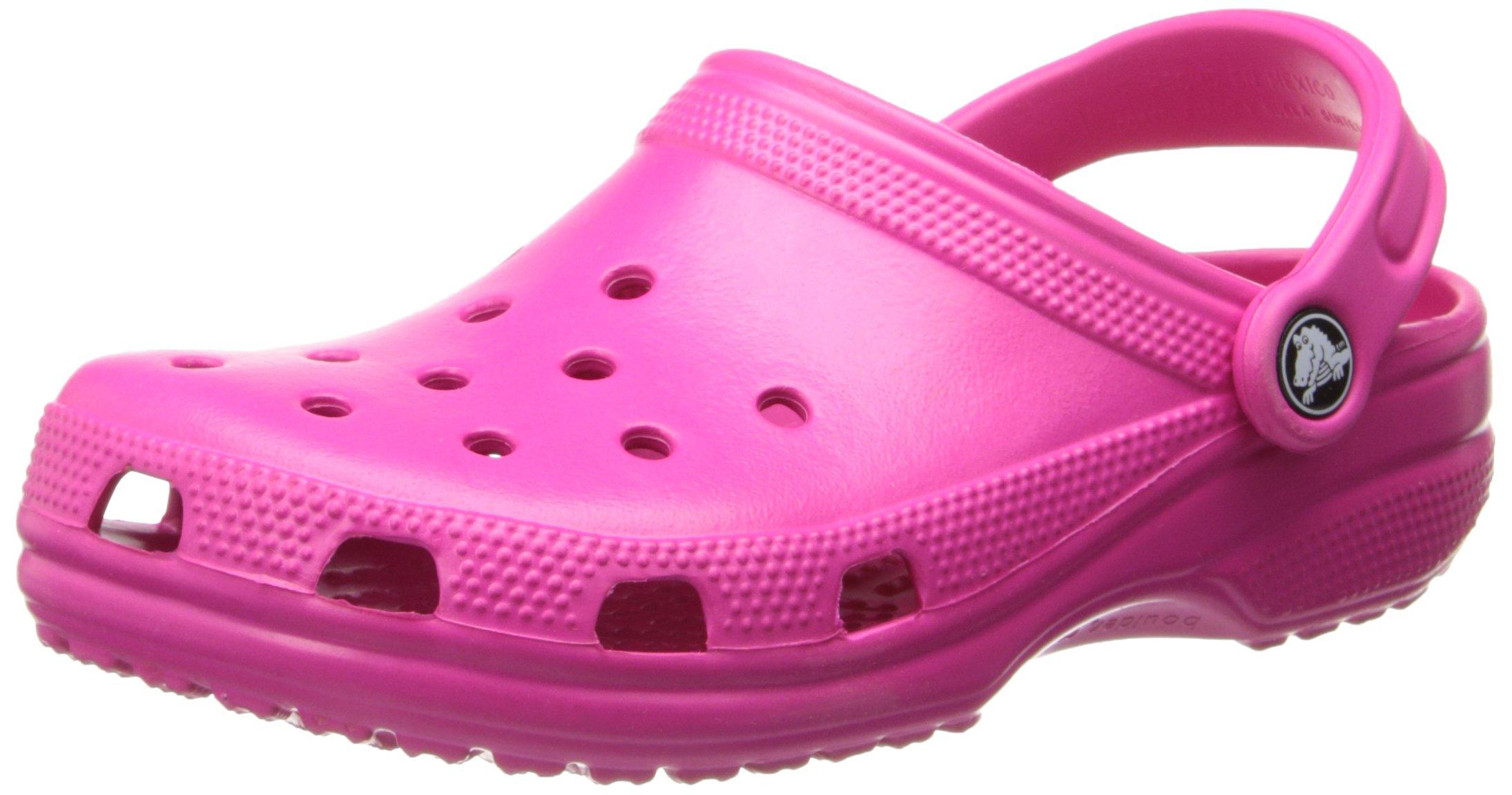 crocs Unisex Classic Clog,Candy Pink,5 M US Men's / 7 M US Women's