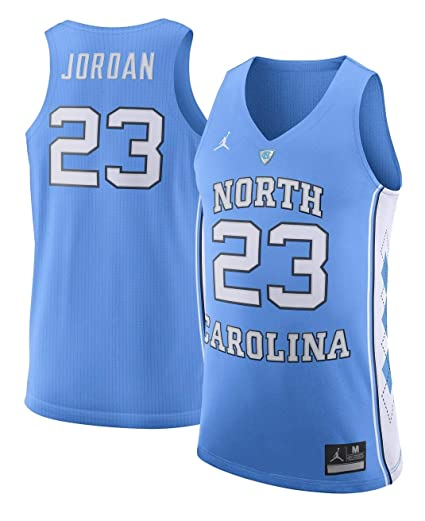 b6d8dcae5ae12e Image Unavailable. Image not available for. Color  Jordan Brand Michael  Jordan North Carolina Tar Heels Light Blue Authentic Basketball Jersey ...