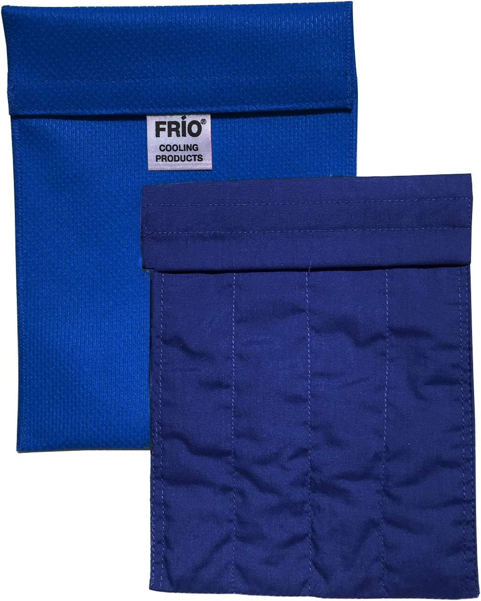 FRIO Large Insulin Cooling Carrying Case/Wallet - Blue - Evaporative Cooler - Keeps Insulin Cool Without Ever Needing ice Packs or Refrigeration! Accept NO Imitation!-Low Shipping Rates-