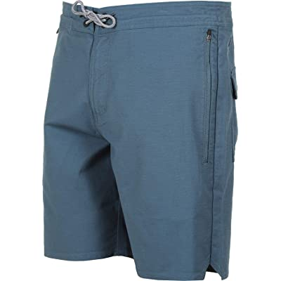 "Roark Layover Stretch Travel Shorts 19"" - Men's - Indigo - 32 at Amazon Men's Clothing store"