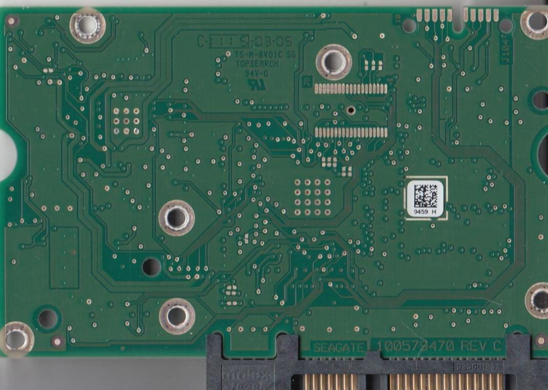 ST31000524NS, 9JW154-038, NA00, 9459 H, Seagate SATA 3 5 PCB