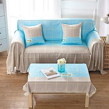 Amazon.com: Europeo funda de sofá, sofá de tela para sala de ...