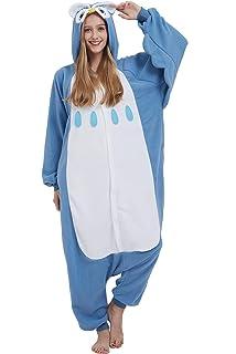 f102411af Pijama Animados Kigurumi Cosplay Panda Rojo Animal para Adulto Unisex Hombre  Mujer