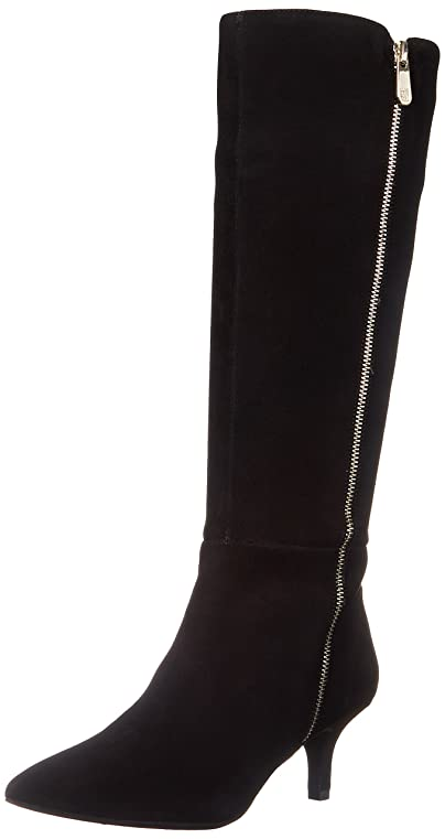 Womens Boots Anne Klein Fedya Black Leather