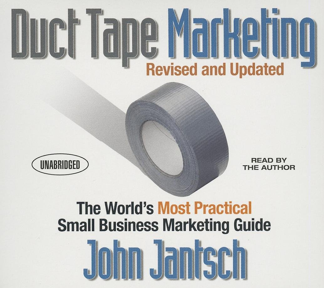 audio book tape marketing duct