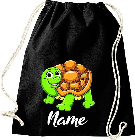 Shirtstown Bolso para Deporte, Tortuga Turtle con el Nombre ...