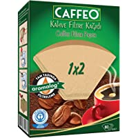 Caffeo 1X2/80 Filtre Kahve Kağıdı 1X2-80Adet, siyah