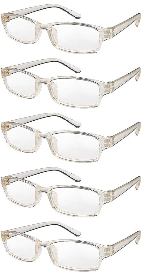 b2da996ba1 4sold Gafas de Lectura Presbicia Vista Cansada - (Pack 5) Graduadas fde 0.5  Dioptrías