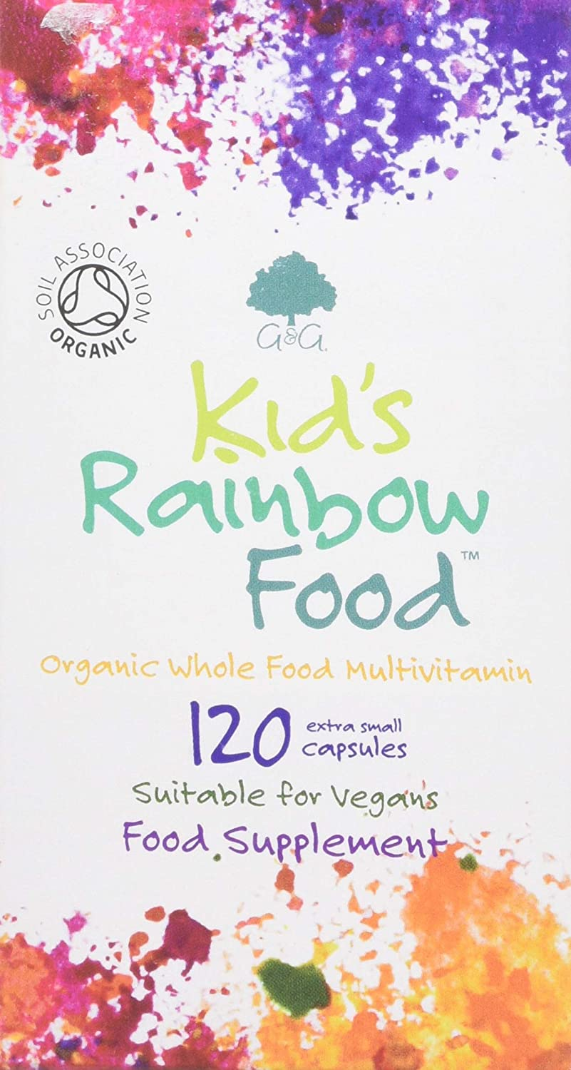 G&G Vitamins Kid's Rainbow Food – Organic Whole Food Multivitamin