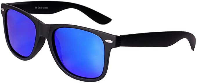 82609dfe973c ... Amazon com Nerd Sunglasses Matt Rubber Style Retro Vintage Unisex