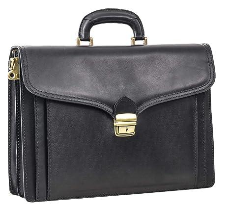 Gusti borsa per portatile Leder studio Owen ventiquattrore business  computer Made in Italy elegante nero 2B2 f0ba95472e4