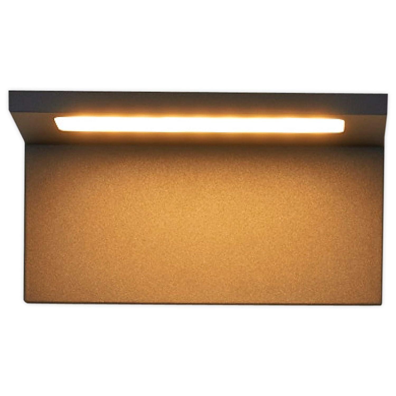 Applique LED da esterni 'Caner' (Moderno) colore Nero, in Alluminio (1 luce, A+, lampadina inclusa) di Lampenwelt   applique da esterni LED applique, lampada LED da esterni, applique outdoor per