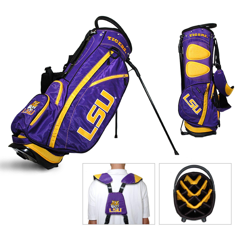 LSUタイガースチームゴルフフェアウェイウッド軽量14-wayトップゴルフクラブスタンドバッグ B01EZ8AZ2U