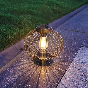 Solar Lanterns Outdoor Hanging Light, 8
