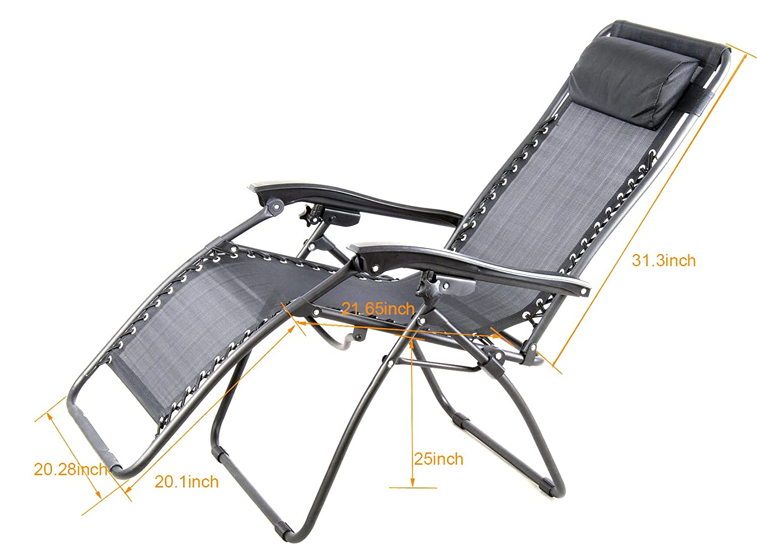 Amazon.com : Anti-Gravity Chair, Zero-Gravity Chair, Super Comfortable,  Lounge Patio Chairs, Outdoor Yard Beach Garden, Folding Chair With Cup  Holder ... - Amazon.com : Anti-Gravity Chair, Zero-Gravity Chair, Super