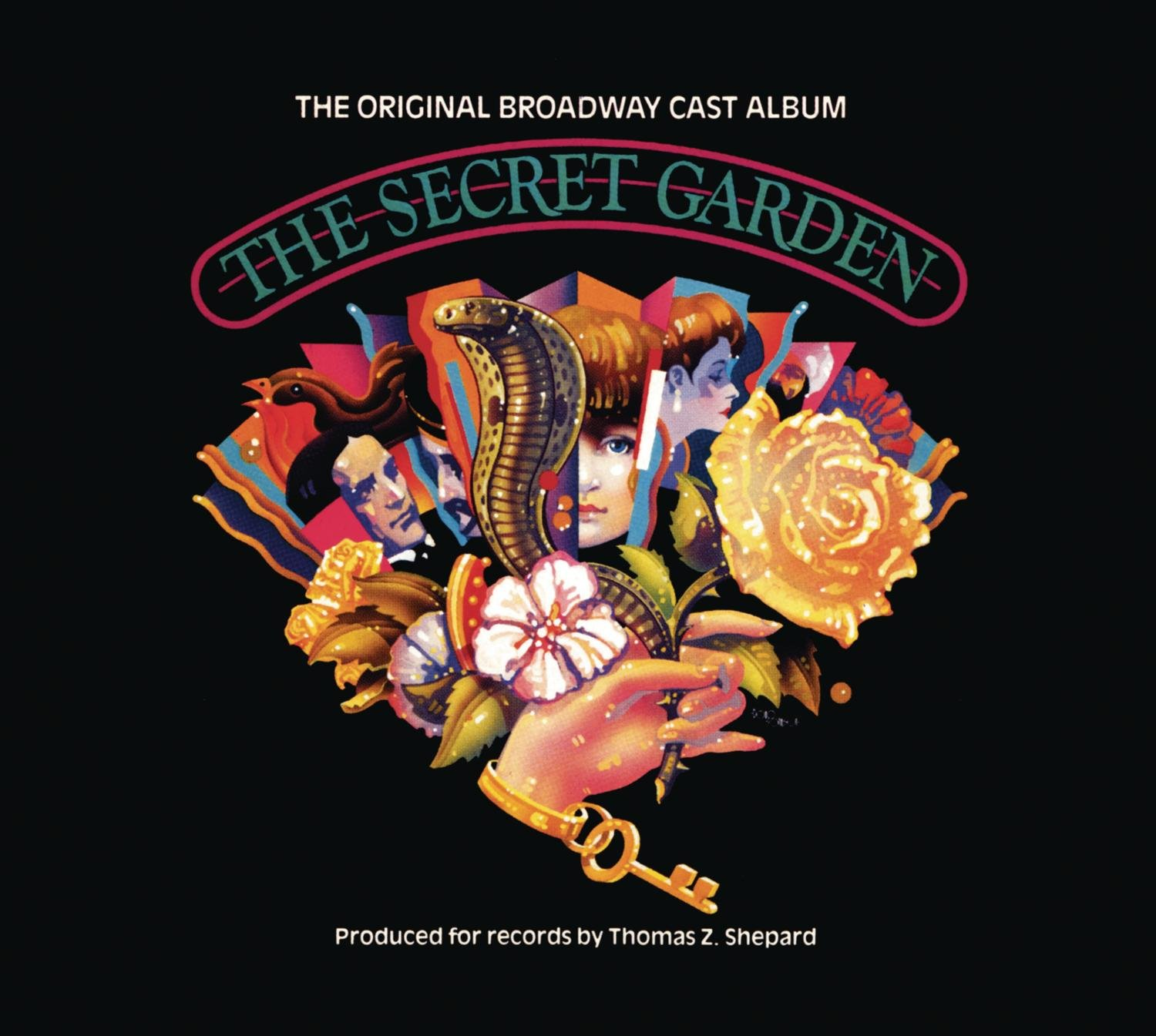 CD : Original London Cast - The Secret Garden (Ecopak - Biodegradable PKG)