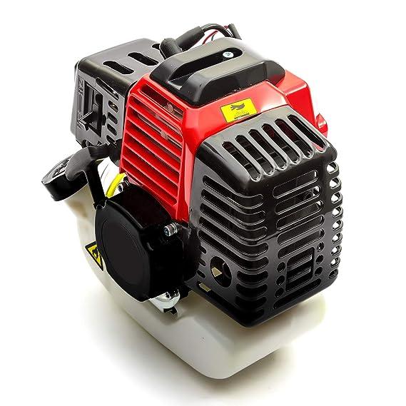 Desbrozadora 2 Tiempos Motor de Gasolina 52cc 2.5HP Arranque ...