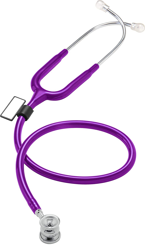 MDF® NEO™ - Estetoscopio Deluxe ligero infantil y neonatal de doble cabeza - Morado (MDF787XP-08)