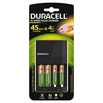 a1e9928e32d Buy Duracell 45 Minutes Charger with 2 AA and 2 AAA Rechargeable Batteries  Online at Low Price in India