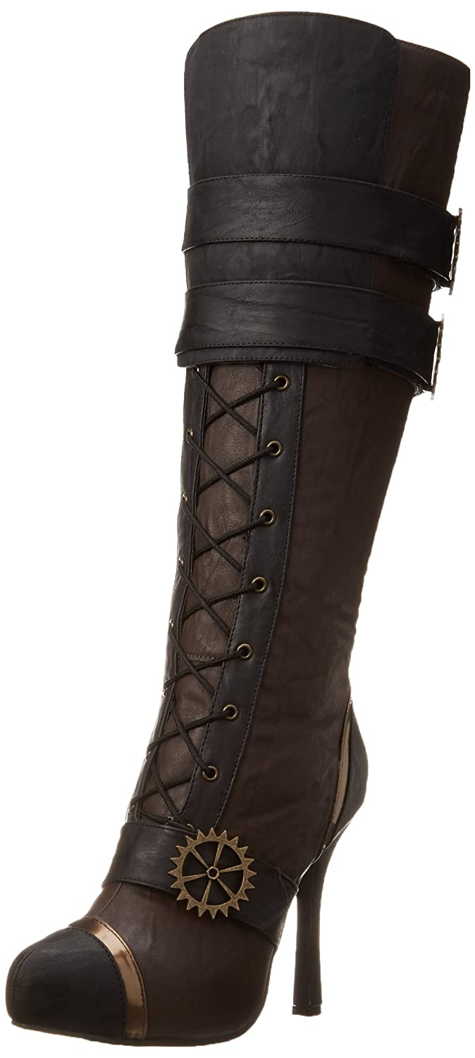 Ellie Shoes Women's 420 Quinley Boot B0084IW7II 12 B(M) US|Brown