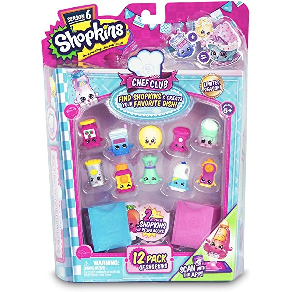 Shopkins 56152 Chef Club Hot Spot Kitchen Playset Multi-Colored