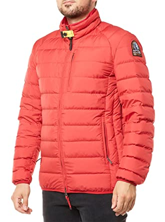 sale retailer 36b33 fd644 PARAJUMPERS JACKE HERREN UGO FS/16 DAUNENJACKE ROT MEN ...