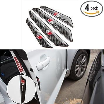 Amazon.com: auto-p 4 piezas coche anti colisión tiras de ...