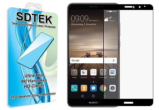 2 opinioni per SDTEK Huawei Mate 9 (Nero) Piena Copertura Vetro Temperato Pellicola Protettiva