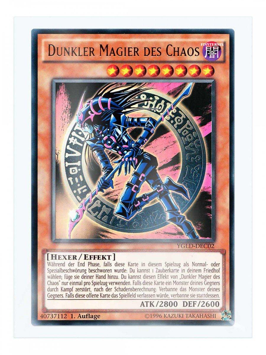 /Fregadero en Juego con original gwindi tarjeta Carcasa ygld de DEC02/oscura Mago del Caos 1./