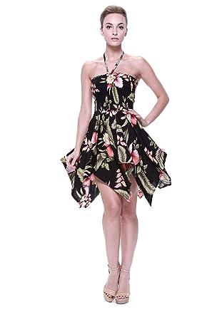 Vestido gitano Vestido hawaiano Vestido Luau Vestido de hada en ...