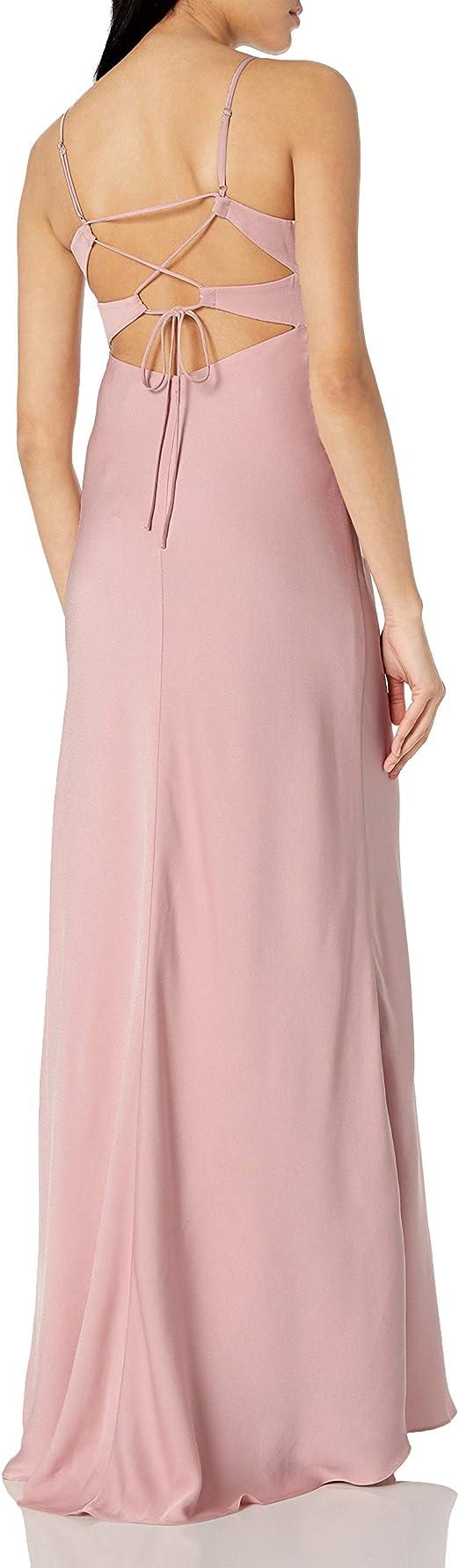 BCBGMAXAZRIA Womens FAE Sleeveless Lace-up Gown Dress