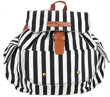 Ladies Girls Owl Printed Backpack Rucksack School College Shoulder New Bag UK