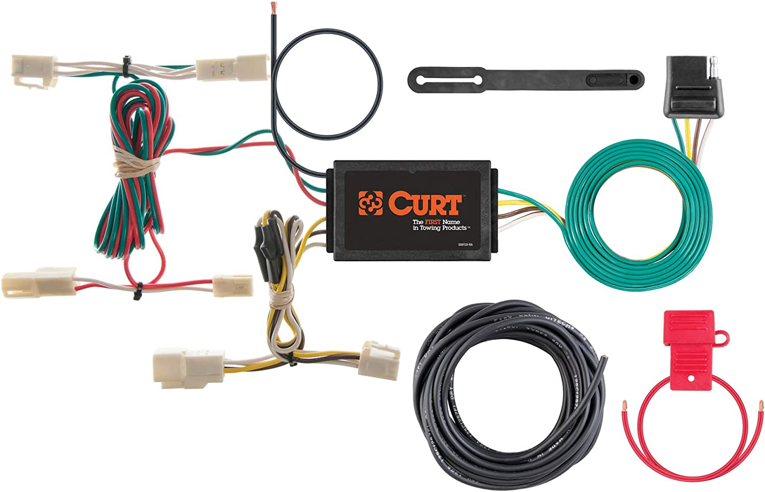 Hopkins 41945 Plug-In Simple Vehicle to Trailer Wiring Kit Hopkins Towing Solution