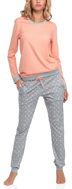 Cornette Pijama Conjunto Camiseta y Pantalones Mujer 634 2015