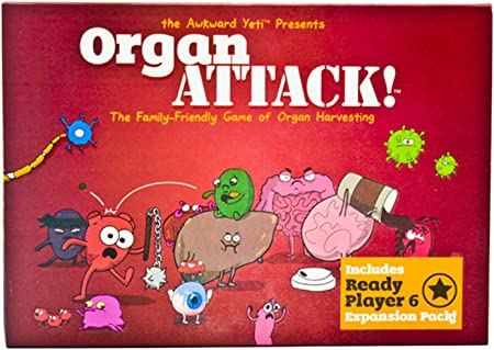 Juego De Mesa Organ Attack Juego De Cartas Divertidas para La ...