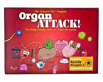 Juego De Mesa Organ Attack Juego De Cartas Divertidas para ...
