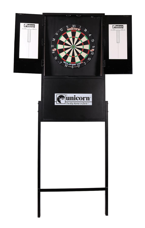 Unicorn X-Tip Dartboard Stand, Black, Standard Unicorn darts 81579