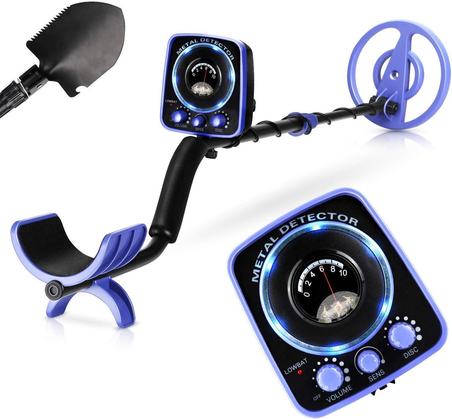 INTEY Metal Detector Waterproof for Adults & Kids