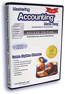 Mastering Accounting Made Easy Training Tutorial – Introductory Small Business Accounting e Book Manual Guide